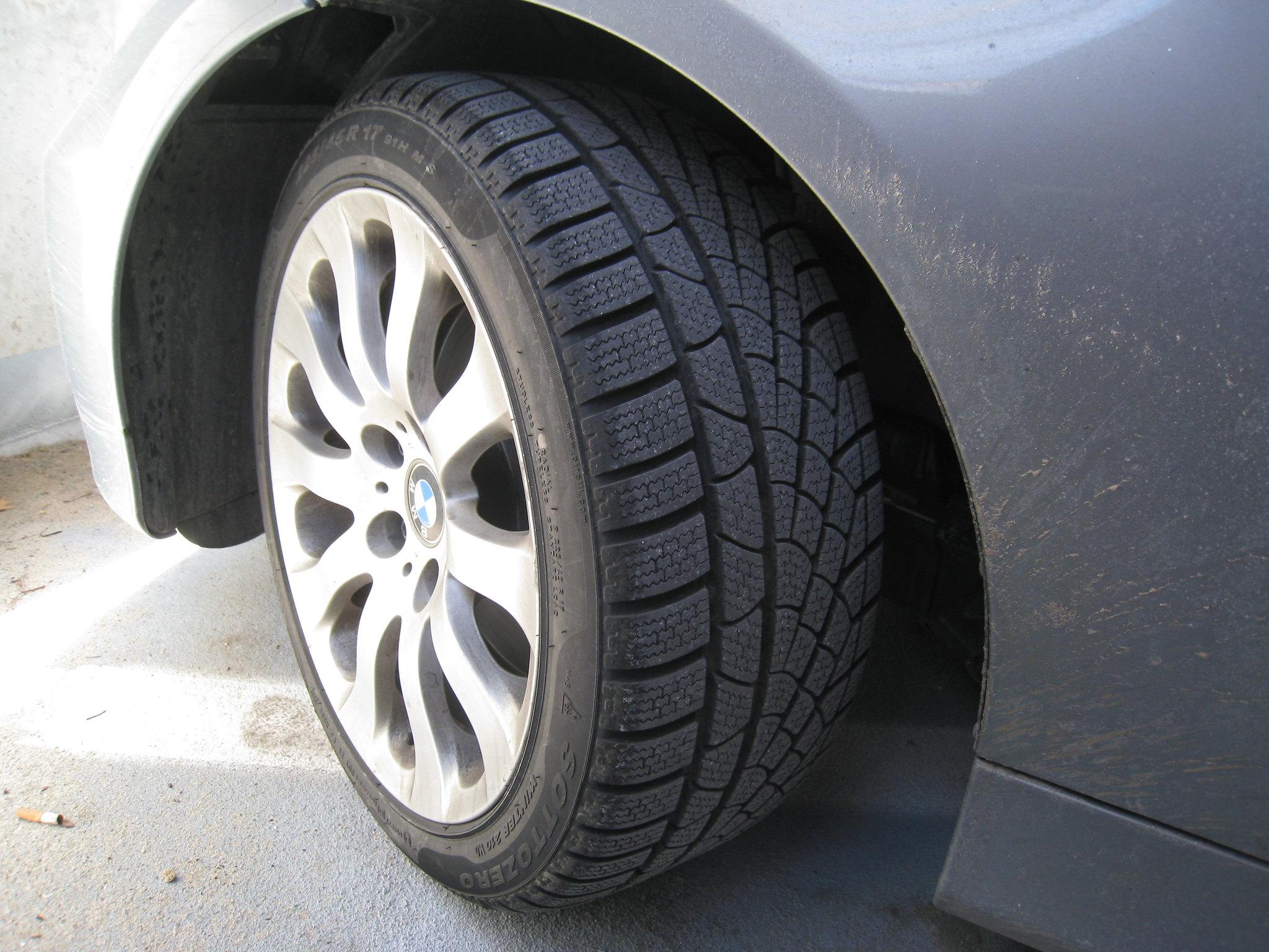 Neumáticos de invierno   Foto: Creativecommons.org