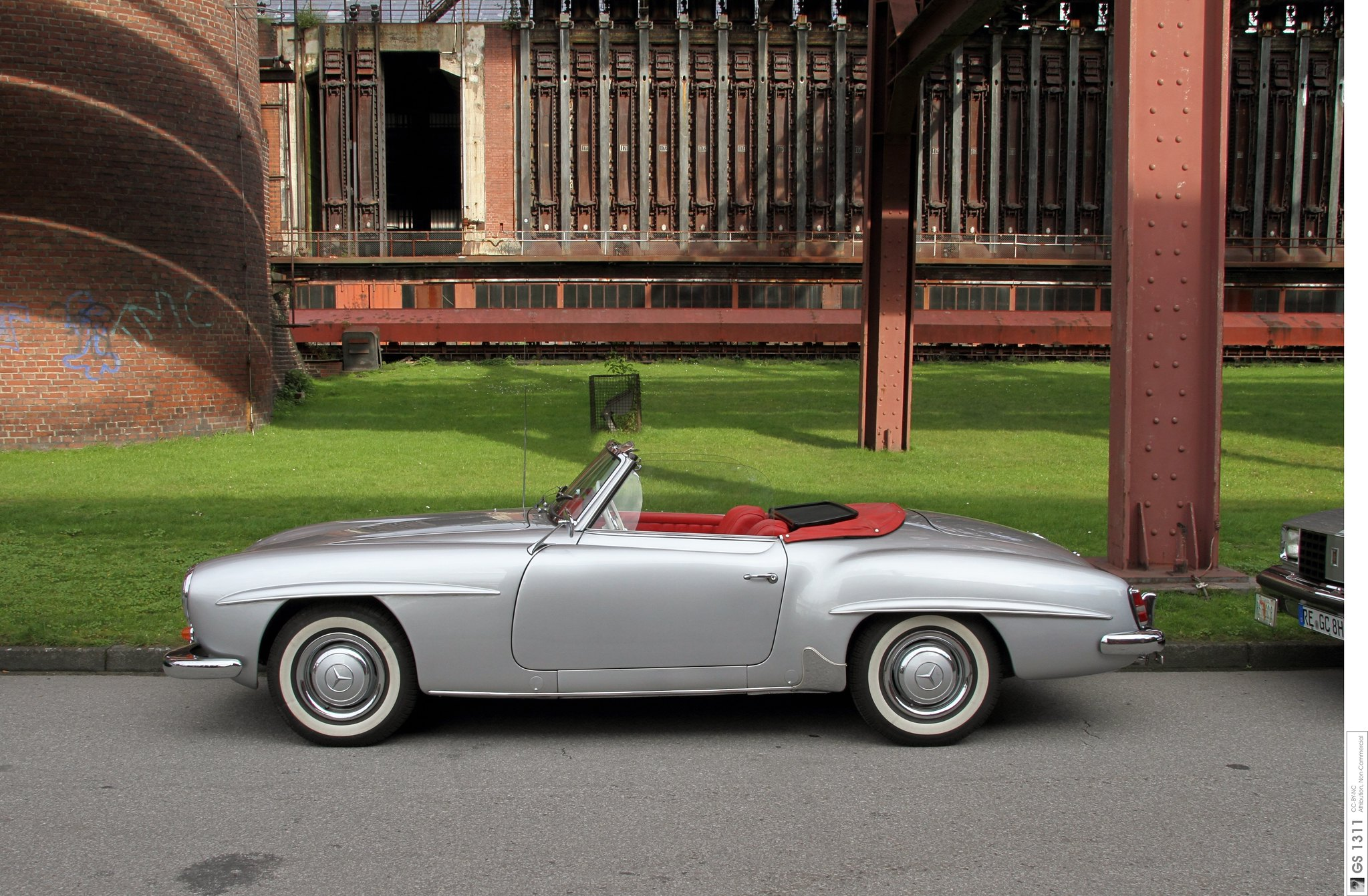 Mercedes SL (año 1955) | Foto: Creativecommons.org