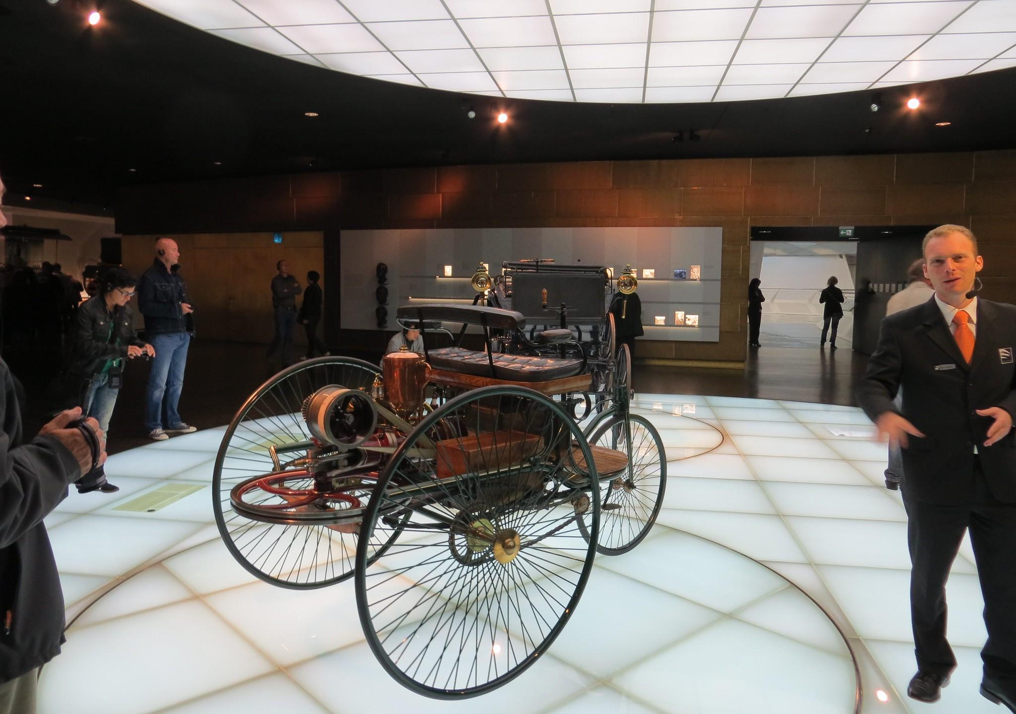 El coche de Benz   Foto: Creativecommons.org