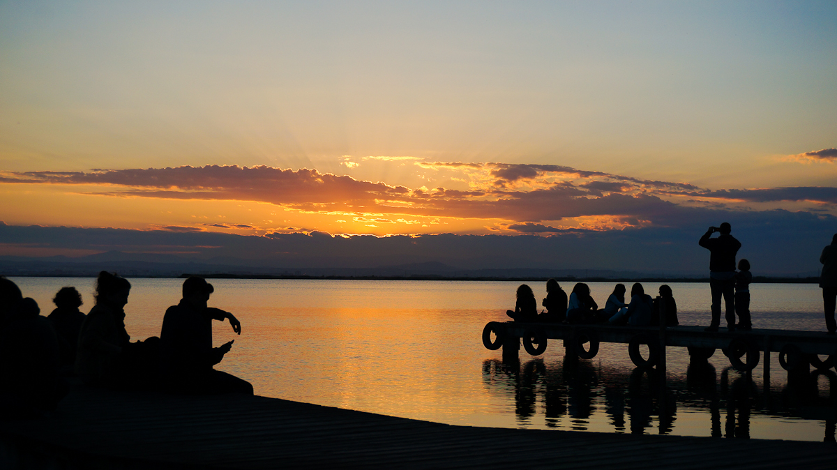 Atardecer en la Albufera de Valencia | Foto: Creativecommons.org