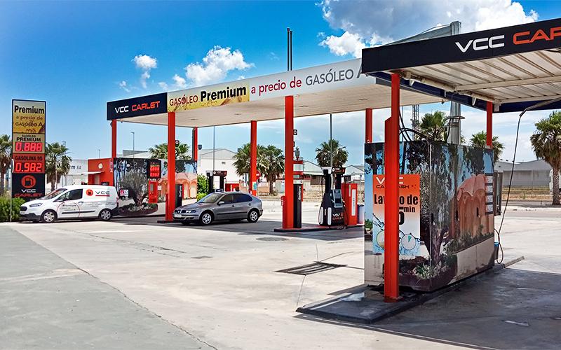 Gasolinera | Foto: Platinium Oil