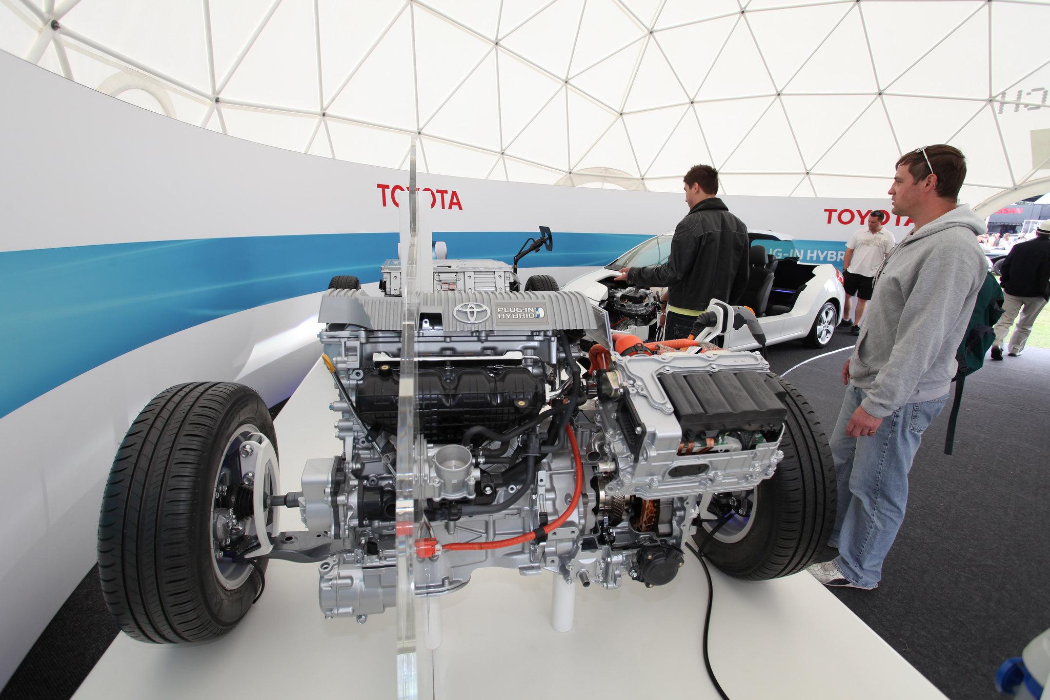 Sistema híbrido de Toyota   Foto: Creativecommons.org