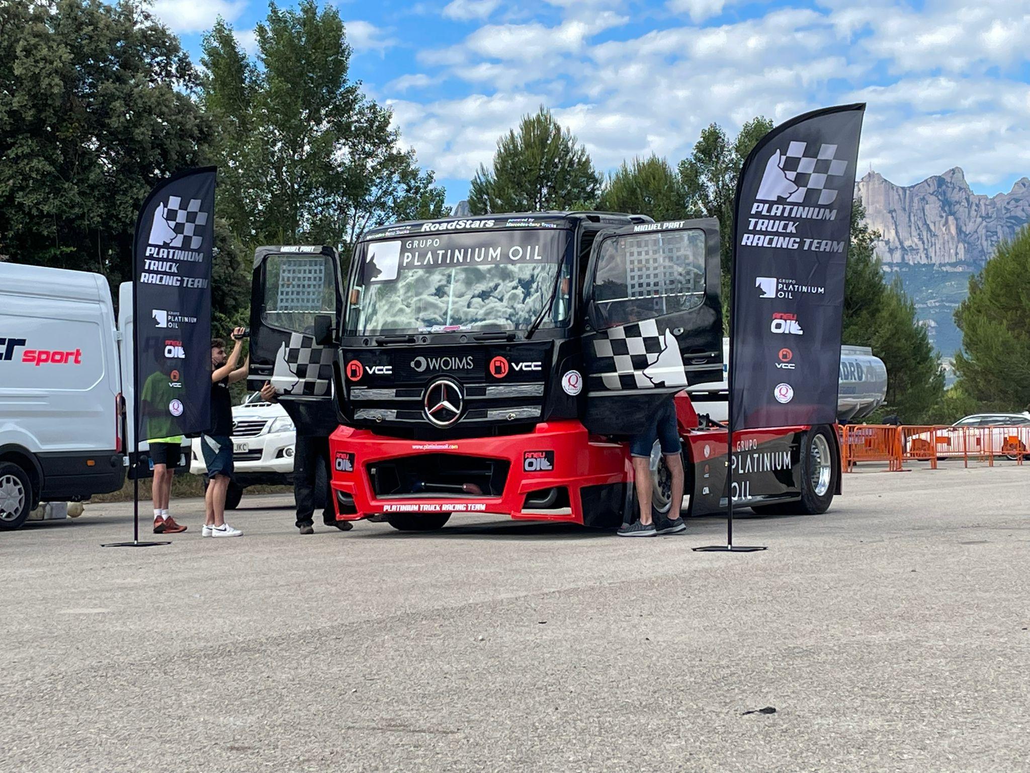 Platinium Truck Racing Team   Foto: @TruckRacing_es