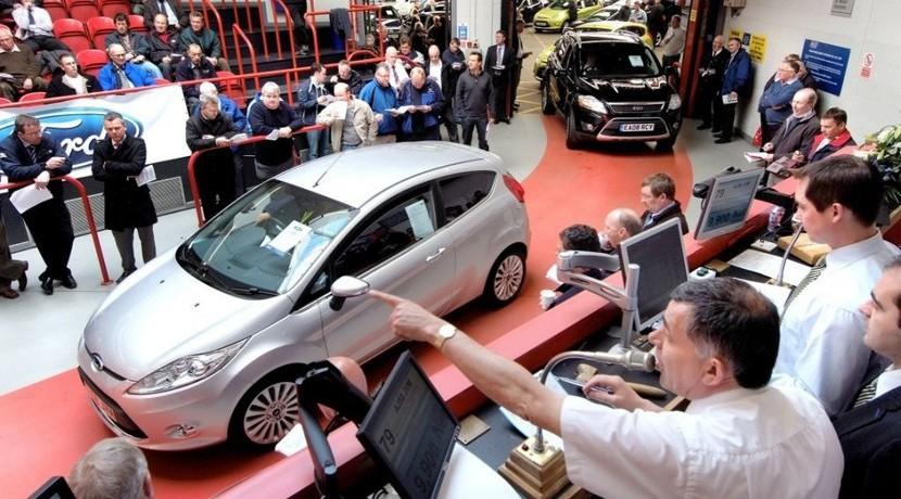 Subastas de coches del Estado   Foto: Ford